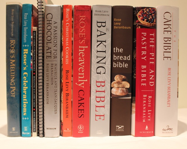 Rose Levy Beranbaum cookbooks