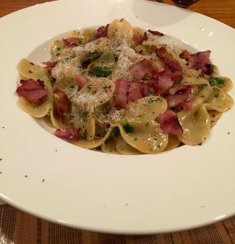 Carbonara with Truffle Pasta