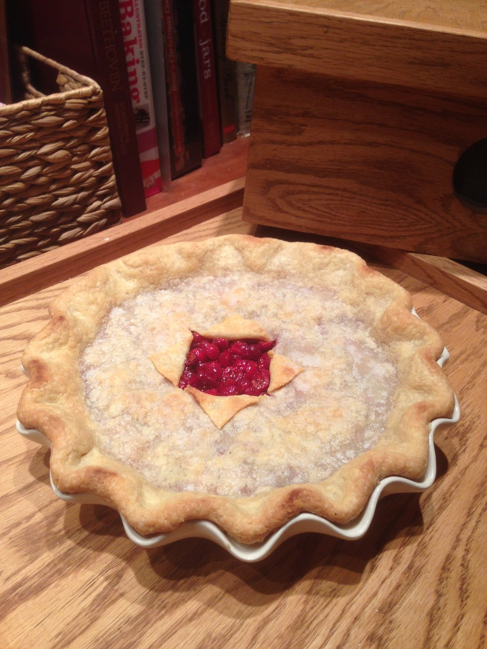 Cranberry Window Pie