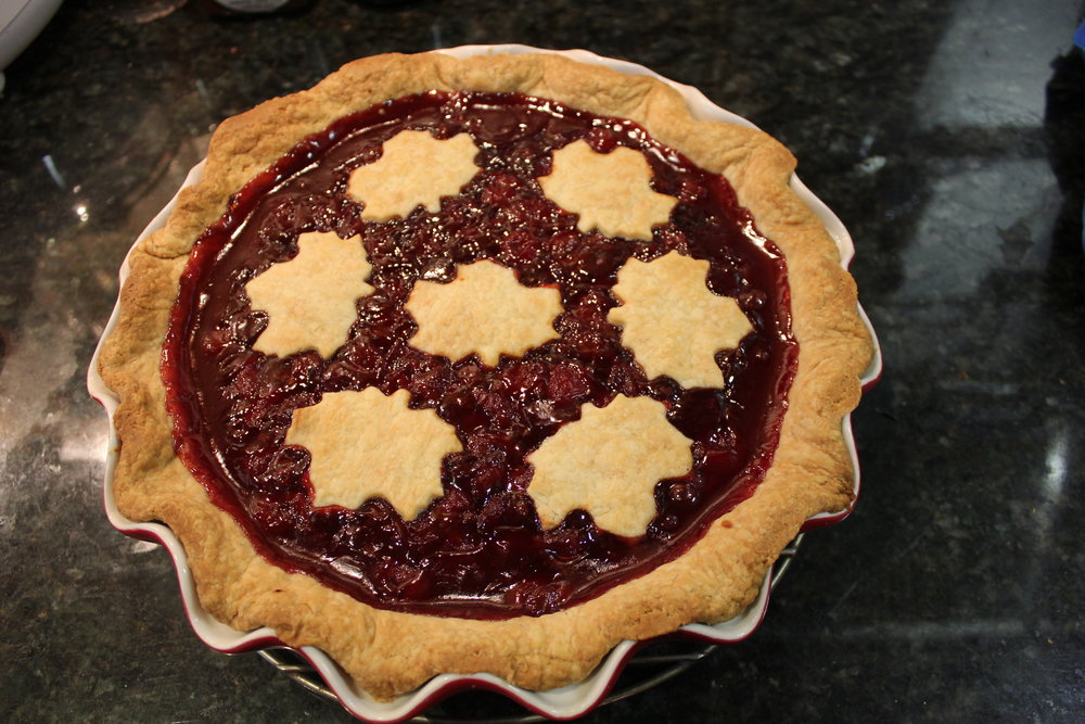 Winter Cherry Pie