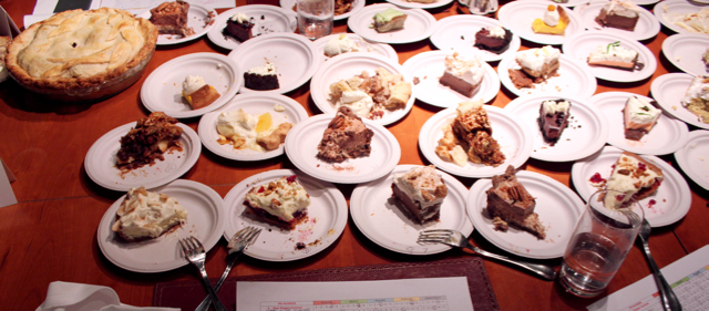Gramercy Tavern Pie Judging