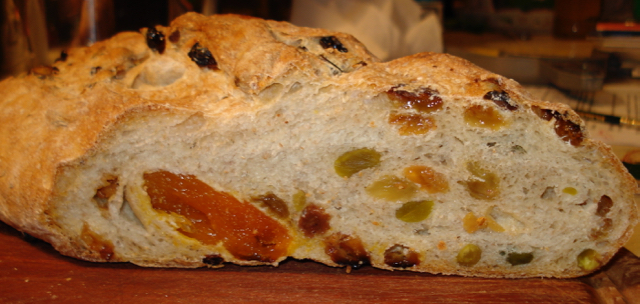 Swedish Apricot Pistachio Bread