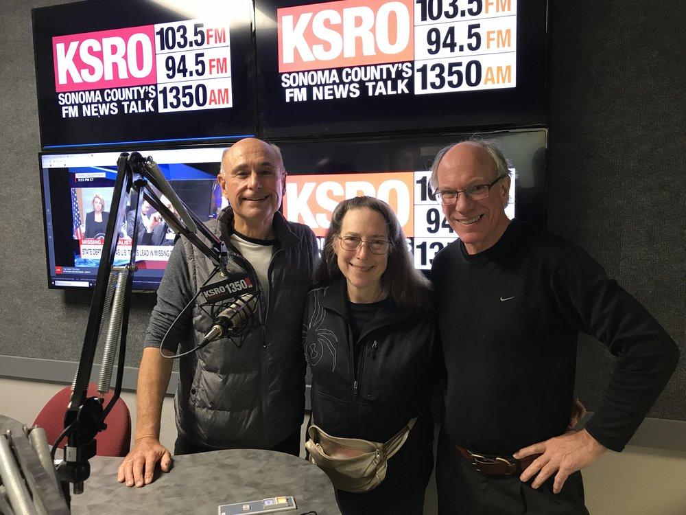 Steve Garner host for KSRO-Santa Rosa