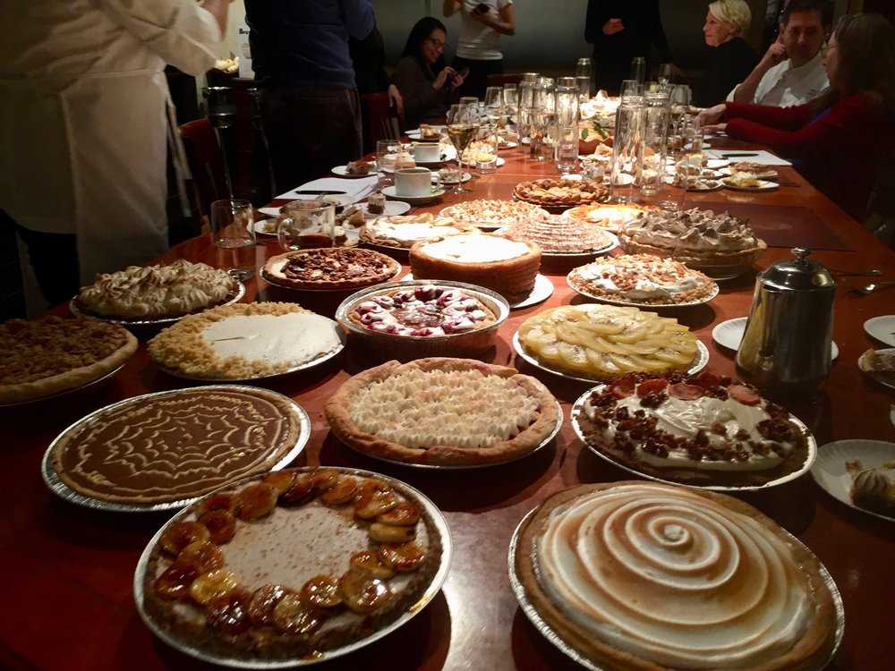 the growing sea of pies