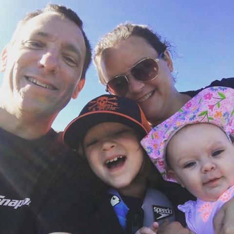 Dana Heino and family pic