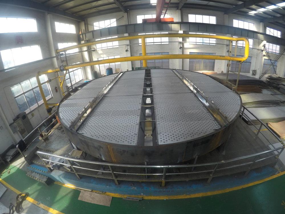 9900mm 4 Pass AMT ADV Fractionation Distillation Tray.JPG