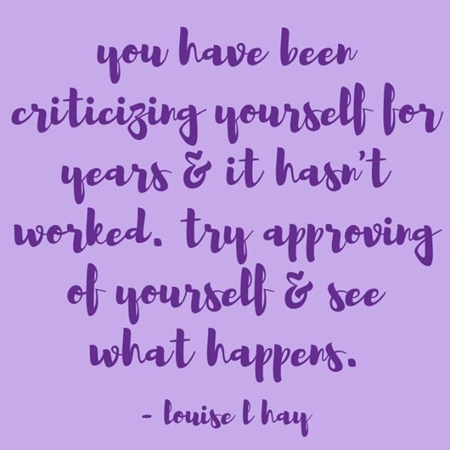 """""""You have been criticizing yourself for years and it hasn't worked. Try approving of yourself and see what happens"""" - Louise Hay⠀ Comment with a 🙋 if you're going to try this today!⠀ .⠀ .⠀ .⠀ .⠀ .⠀ #thinkwomen #sisterhoodsessions #vol1 #lately #buildingbossladies #girlbosses #womensupportingwomen #musicismedicine #womenempowered #changemakers #musicispowerful #selfloveisthebestlove #selflove #sisterhoodovercompetition #louisehay"""