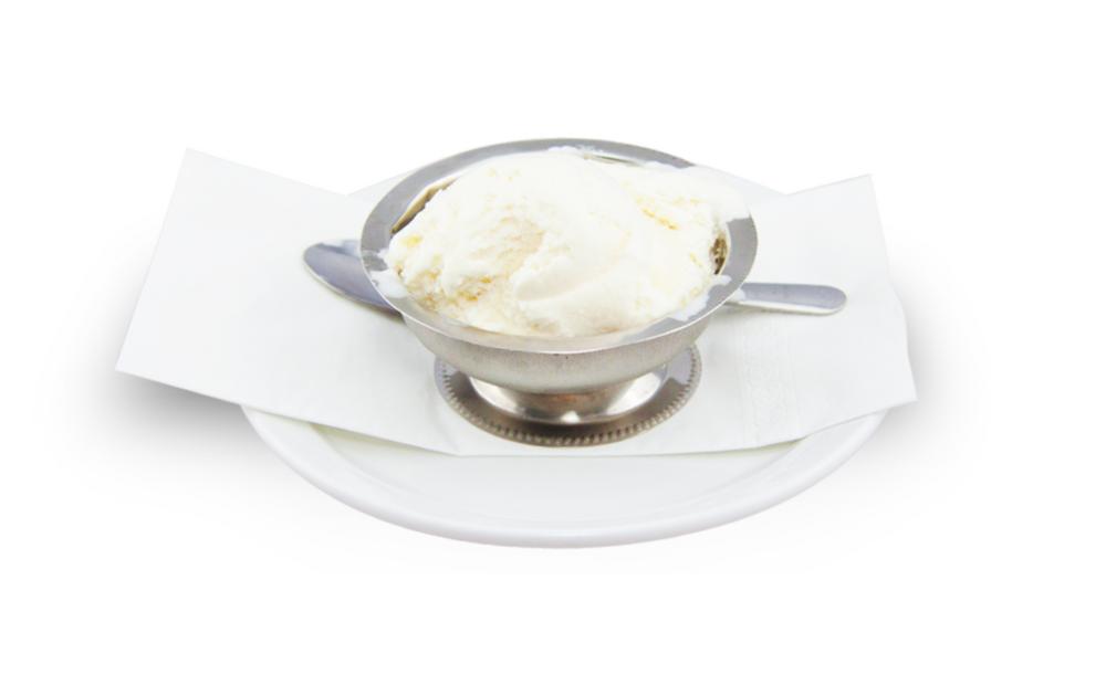 Crème glacée à la vanille -