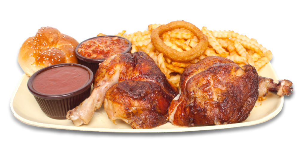 2 cuisses de poulet -