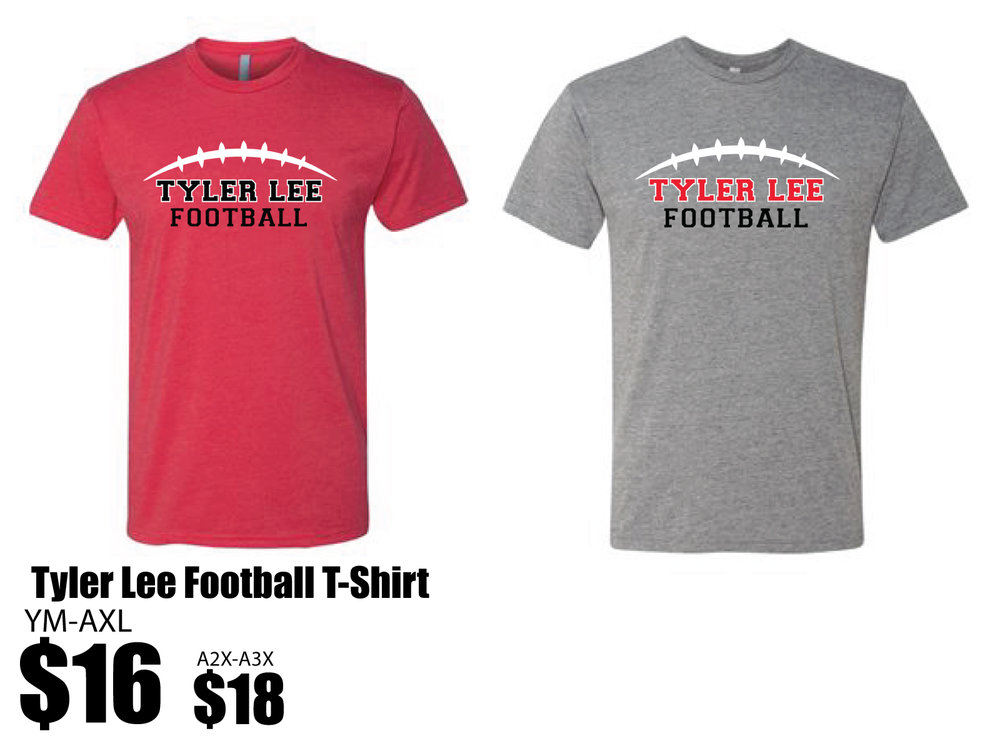 Spirit Gear_Tyler Lee Grey and Red T-shirts.jpg