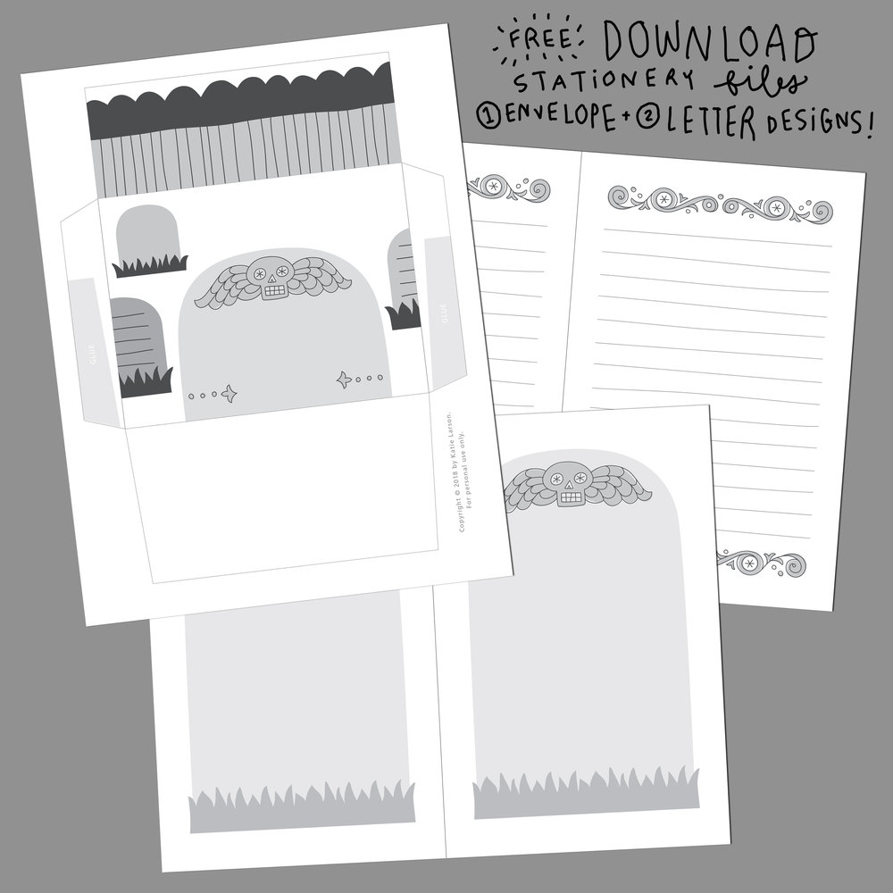 Spooky Dude Stationery 2018 for instagram.jpg