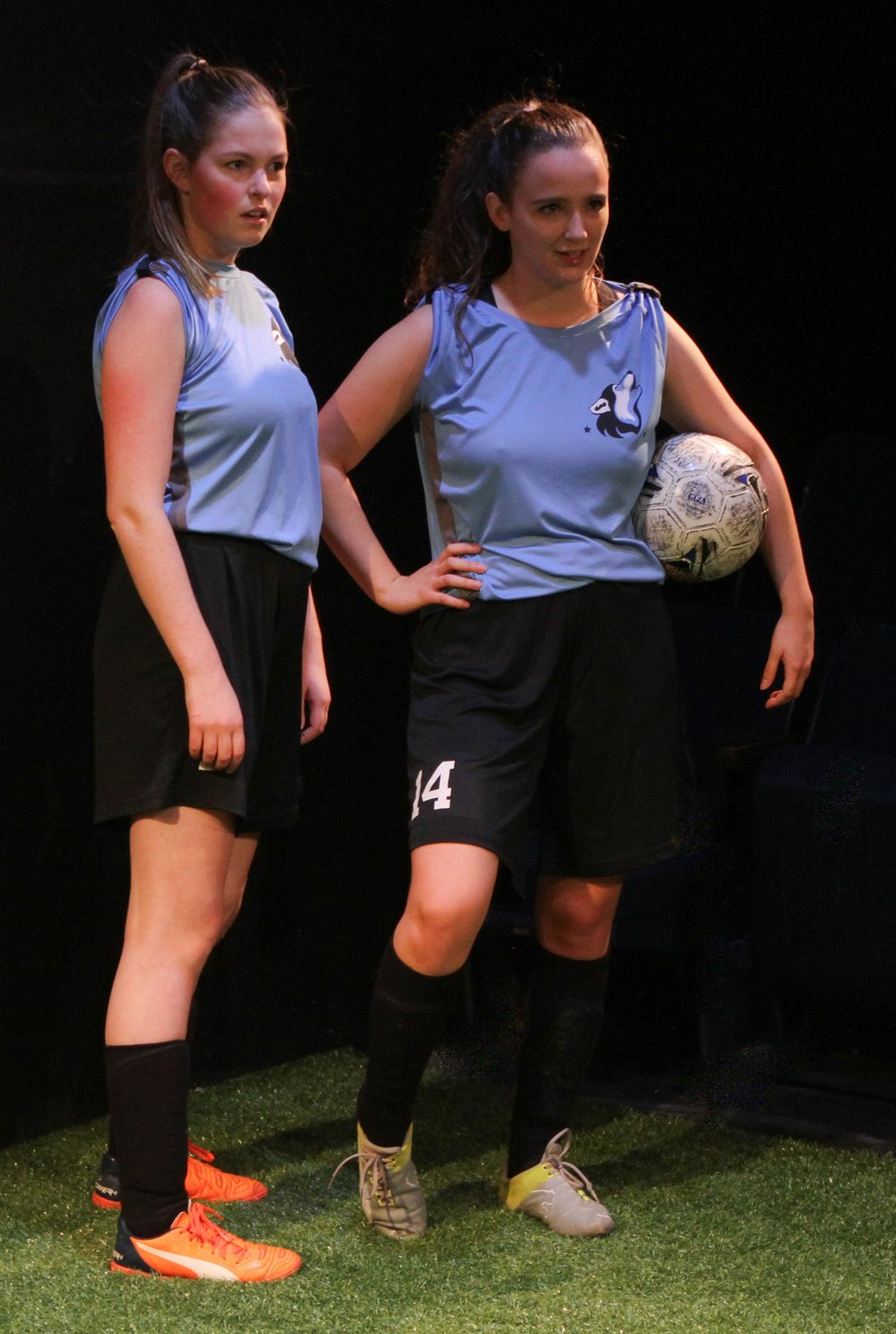 Production photos by: Ron Reed  Featuring: Danielle Klaudt and Montserrat Videla