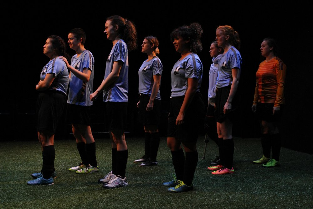 Production photos by: Ron Reed  Featuring:  L-R  Amanda Sum, Shona Struthers, Paige Louter, Jalen Saip, Ali Watson, Danielle Klaudt, Georgia Beaty and Kim Larson