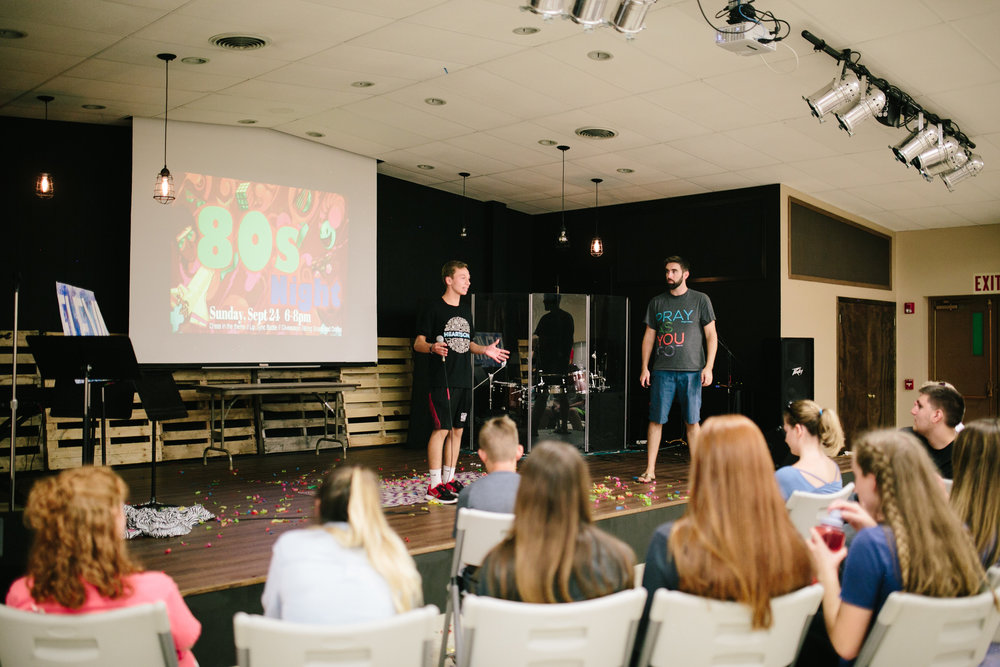 Who We Are — Elevate Student Ministry