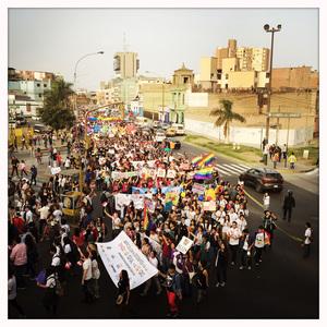 Marcha por la Igualdad. Lima, Perú.