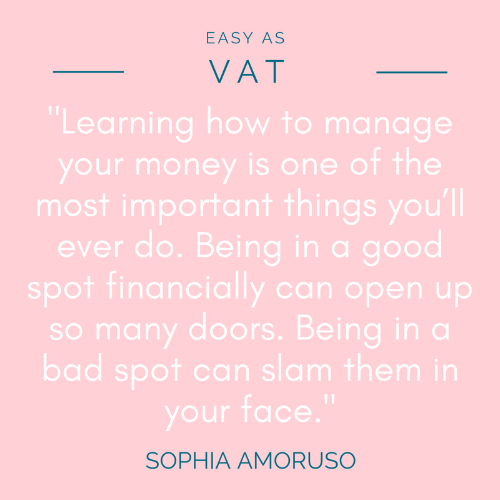 Sophia Amoruso Quote