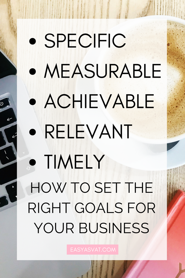 Setting the right business goals | Easy As VAT