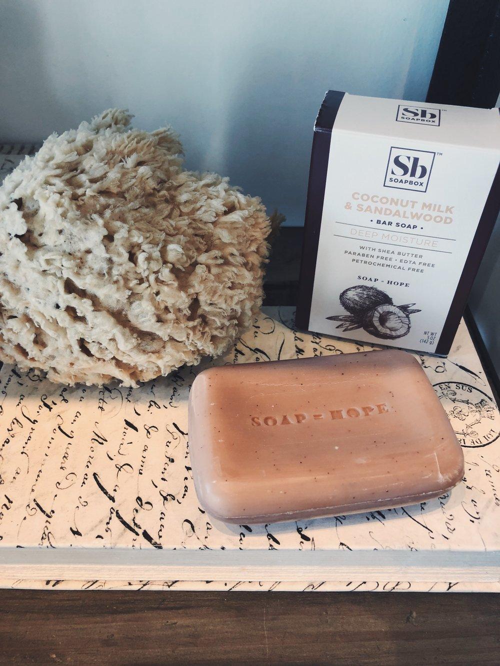 Soap = hope