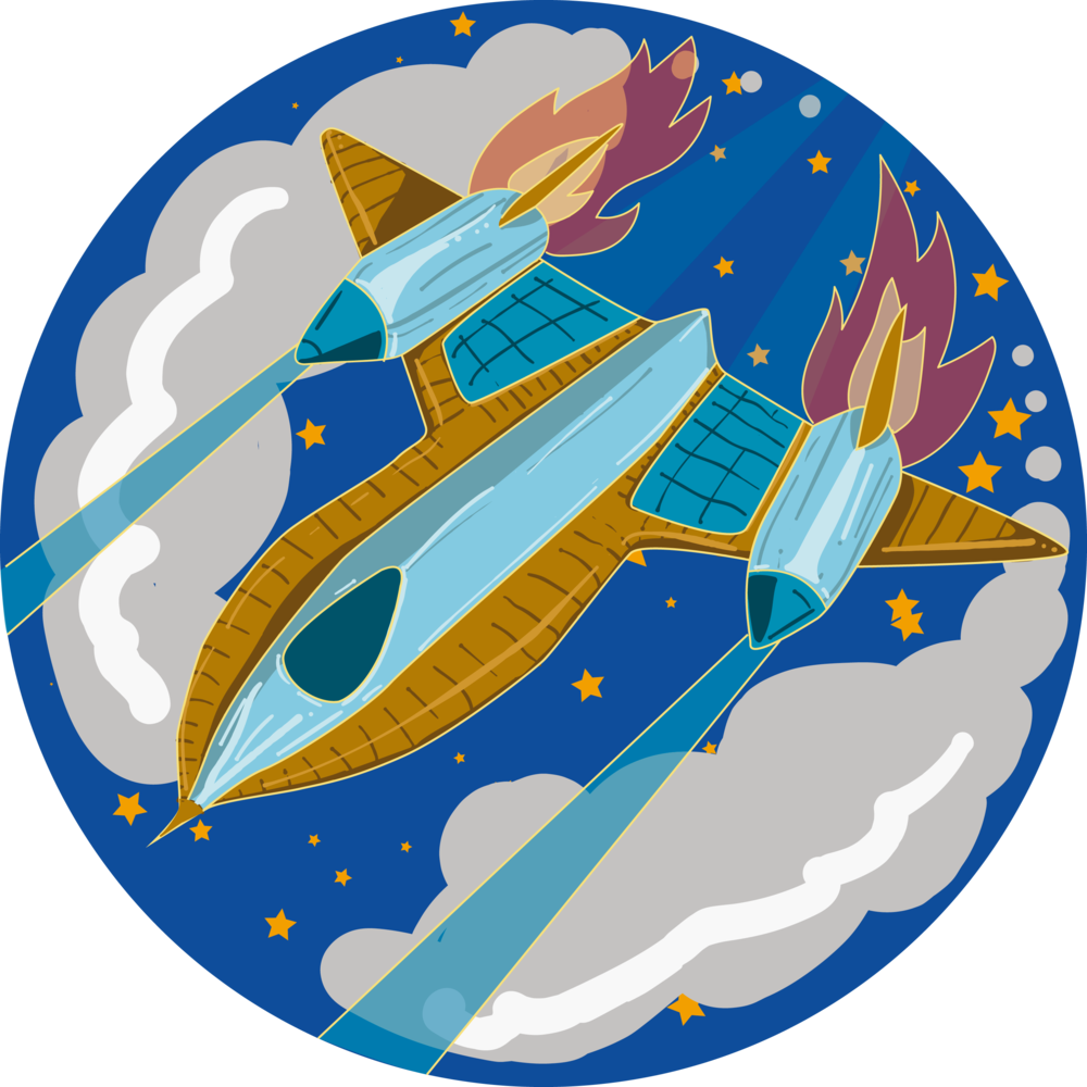 Space Jet Icon