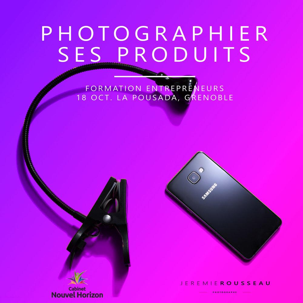 photo de produit pour start-up