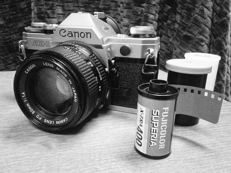 Canon ae 1 fujifilm superia x tra 400