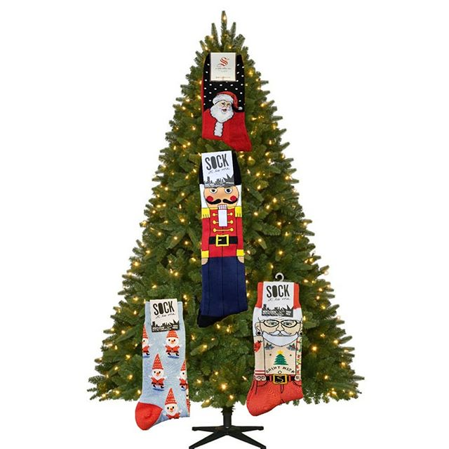The tree is all decorated! Come get your last minute stocking stuffers! Open through Christmas Eve!. . . . . #christmas #stockingstuffers #tistheseason #socks #funsocks #coolsocks #fashion #pnwfashion #seattlefashion #santa #socksmith #sockittome #instagood #instafashion #whatimwearing #seattle #pnw #udistrict #theave