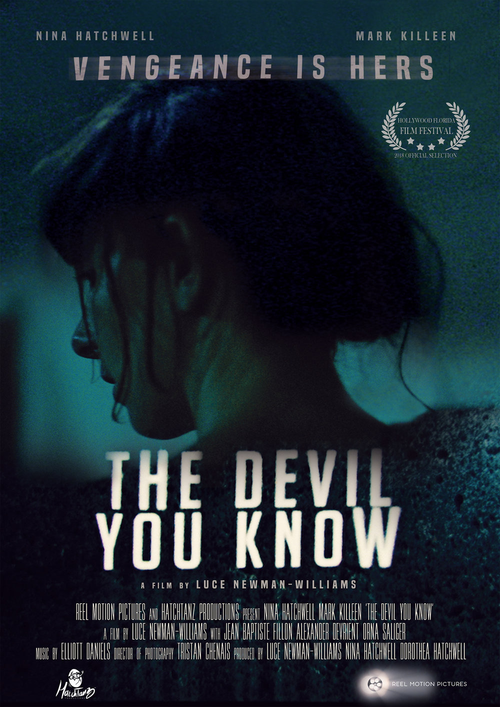 Nina Hatchwell wins Best Actress award for her performance in THE DEVIL YOU KNOW -