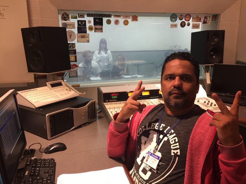 """Um dos nossos técnicos, Francisco Cabral, responsável pelo sucesso do FAAP On Demand """"a milhares"""""""