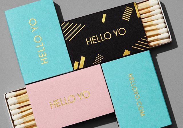 HELLO YO matches! 🖤🔥💗 We didn't start the fire... • 📷 @bradbridgersfoto • • • • • #design #graphicdesign #designstudio #logo #logodesign #branding #brandidentity #visualidentity #typography #print #packaging #bestofpackaging #ladieswinedesign #itsnicethat #graphicdesigndaily #visualjournal #visualgraphc #welove #welovebranding #welovedaily #designfeed #designinspo #helloyo