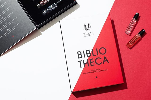 Bibliotheca, my first fragrance set for Ellis Brooklyn | One of my favorite designs to date! • 📷 @bradbridgersfoto • Ellis Brooklyn | Clean ingredients | Sustainable sourcing | Vegan and cruelty-free 🌿 • • • • • #design #graphicdesign #designstudio #logo #logodesign #branding #brandidentity #visualidentity #type #print #fragrance #fragrancepackaging #fragranceset #brooklyn #ladieswinedesign #itsnicethat #graphicdesigndaily #bestofpackaging #visualjournal #welove #welovebranding #welovedaily #designfeed #helloyo
