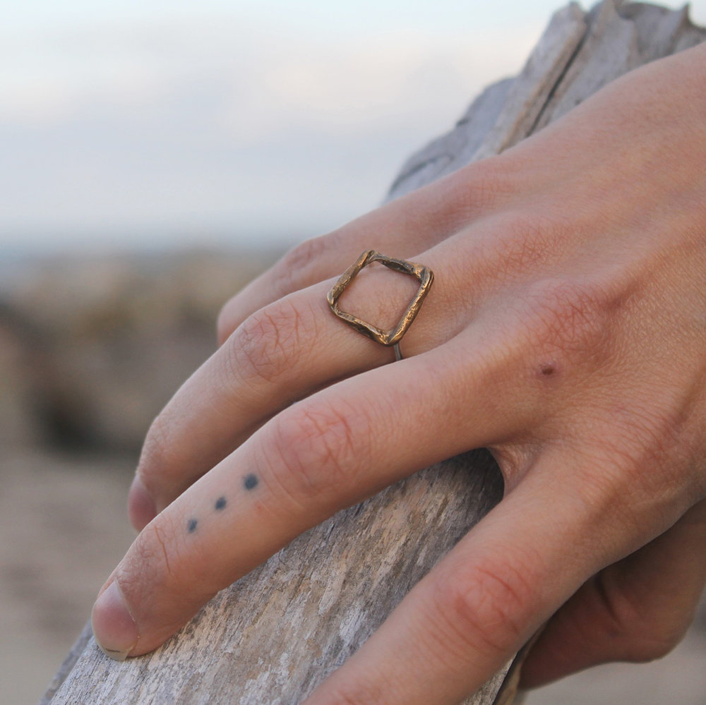 Square Know Ring