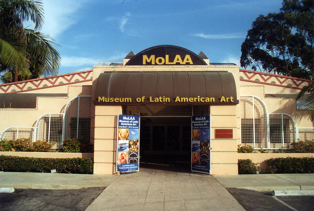 The original MOLAA Building