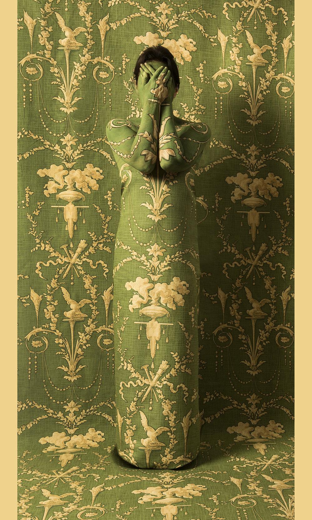 - Cecilia Paredes (Peru, b. 1950)The Secret / El Secreto, 2018Print on Belgian canvas / Impreso en canvas belga55 ⅛ x 32 ⅞ inches / pulgadasCourtesy of the artist and saltfineart / Cortesía de la artista y saltfineartDownload (JPG)