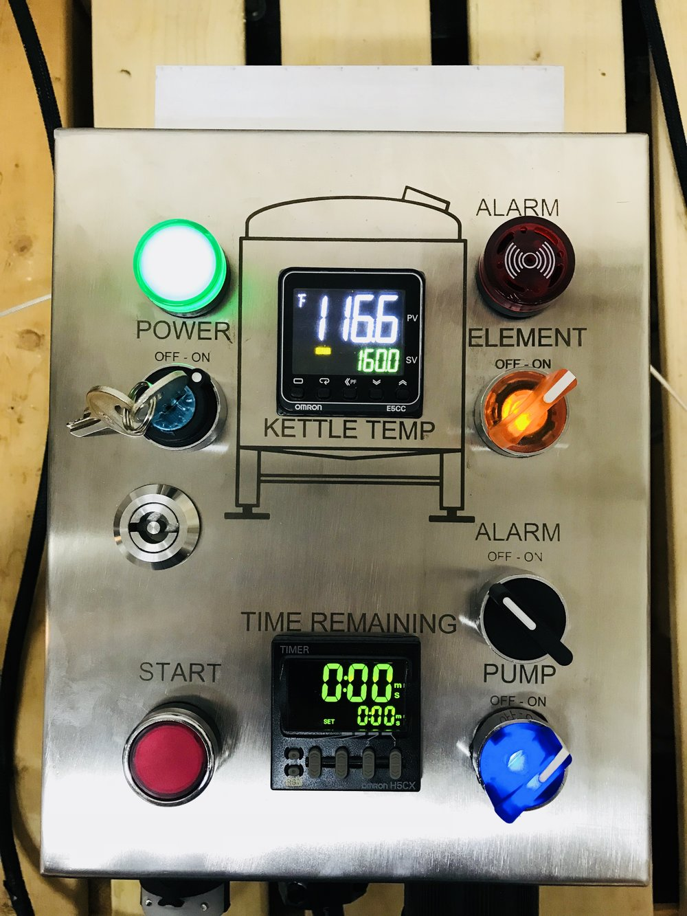 I Electric Brewery Control Panels