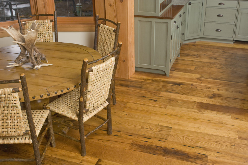 Solid Engineered Flooring Trout River Reclaimed