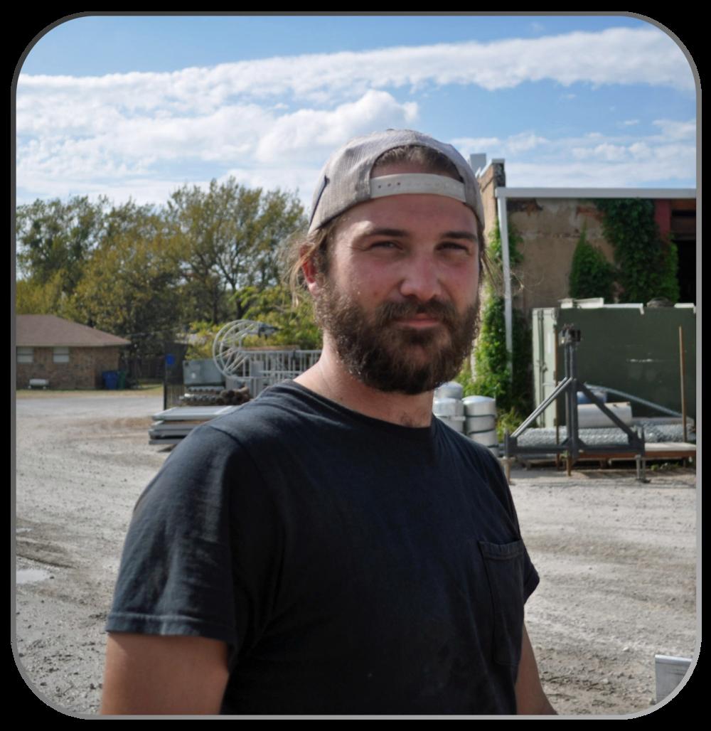 SAM DURBIN    Welder/Fabricator