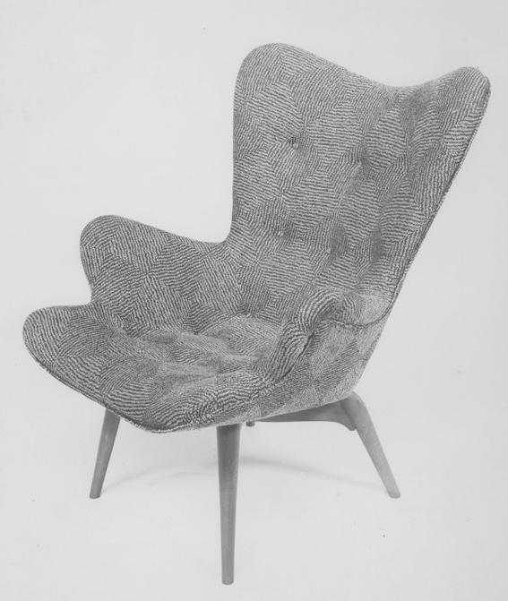 R160 Contour armchair, 1951
