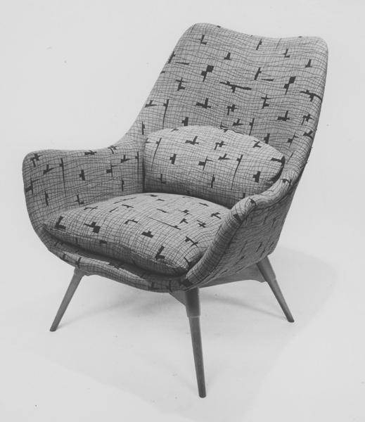 E2 'Elastic' Contour armchair, 1954