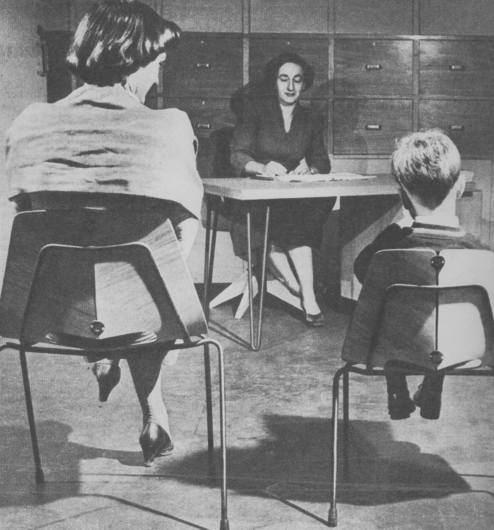 University of Melbourne Child Study Centre chairs, 1955
