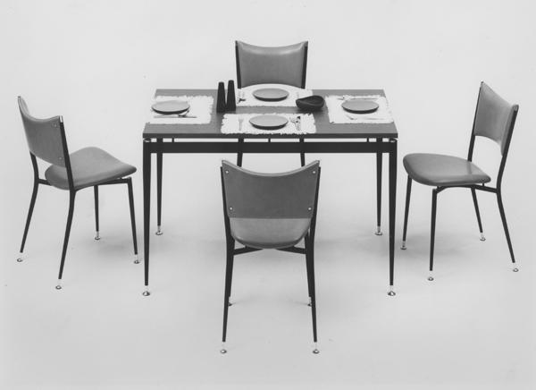 Mitzi dining setting, 1957