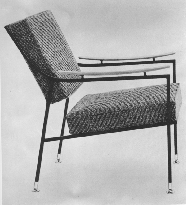 Pagodaline lounge chair, 1958