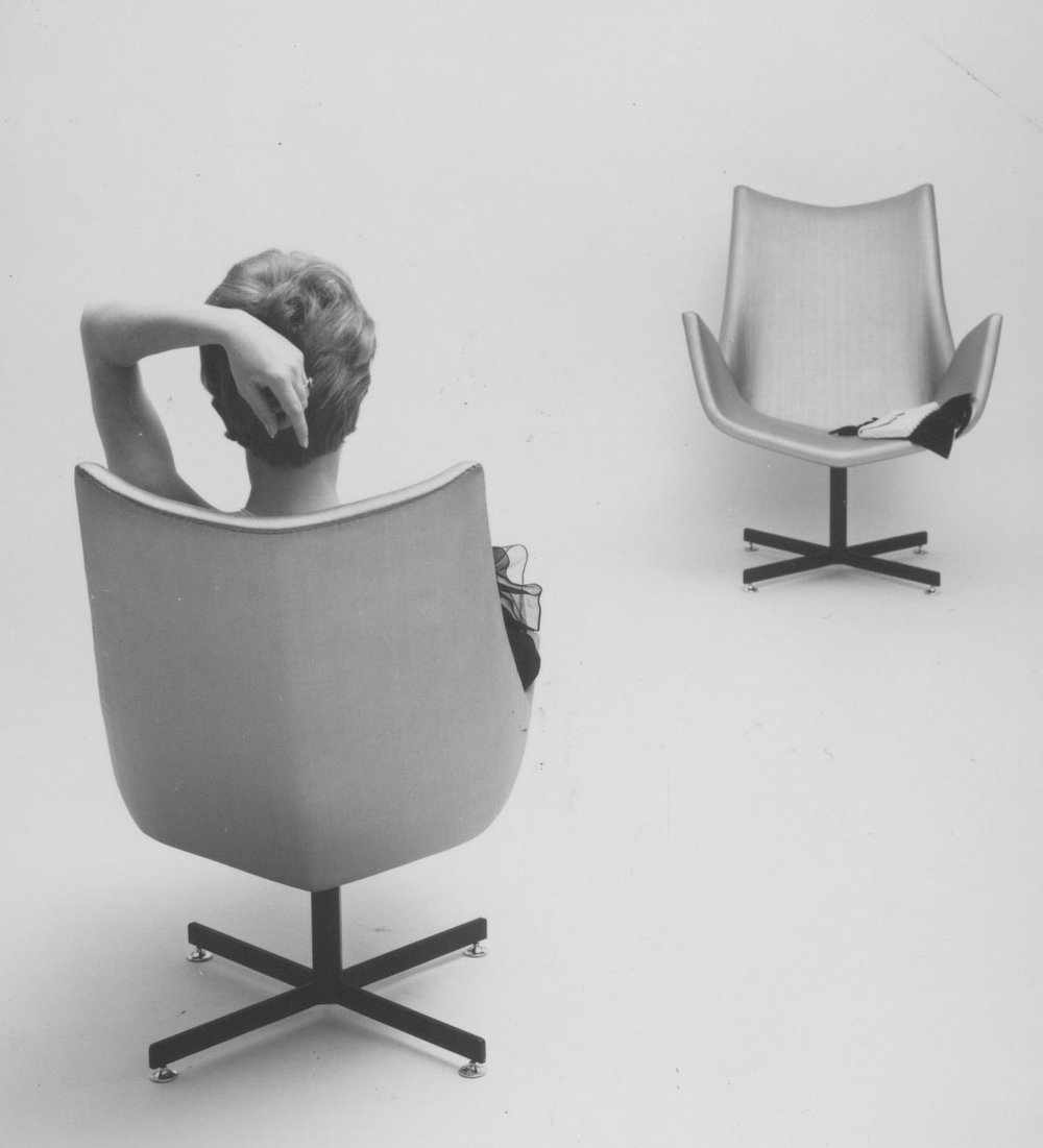 Floating chairs, 1960