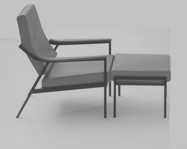 Lido lounge chair and stool, 1960