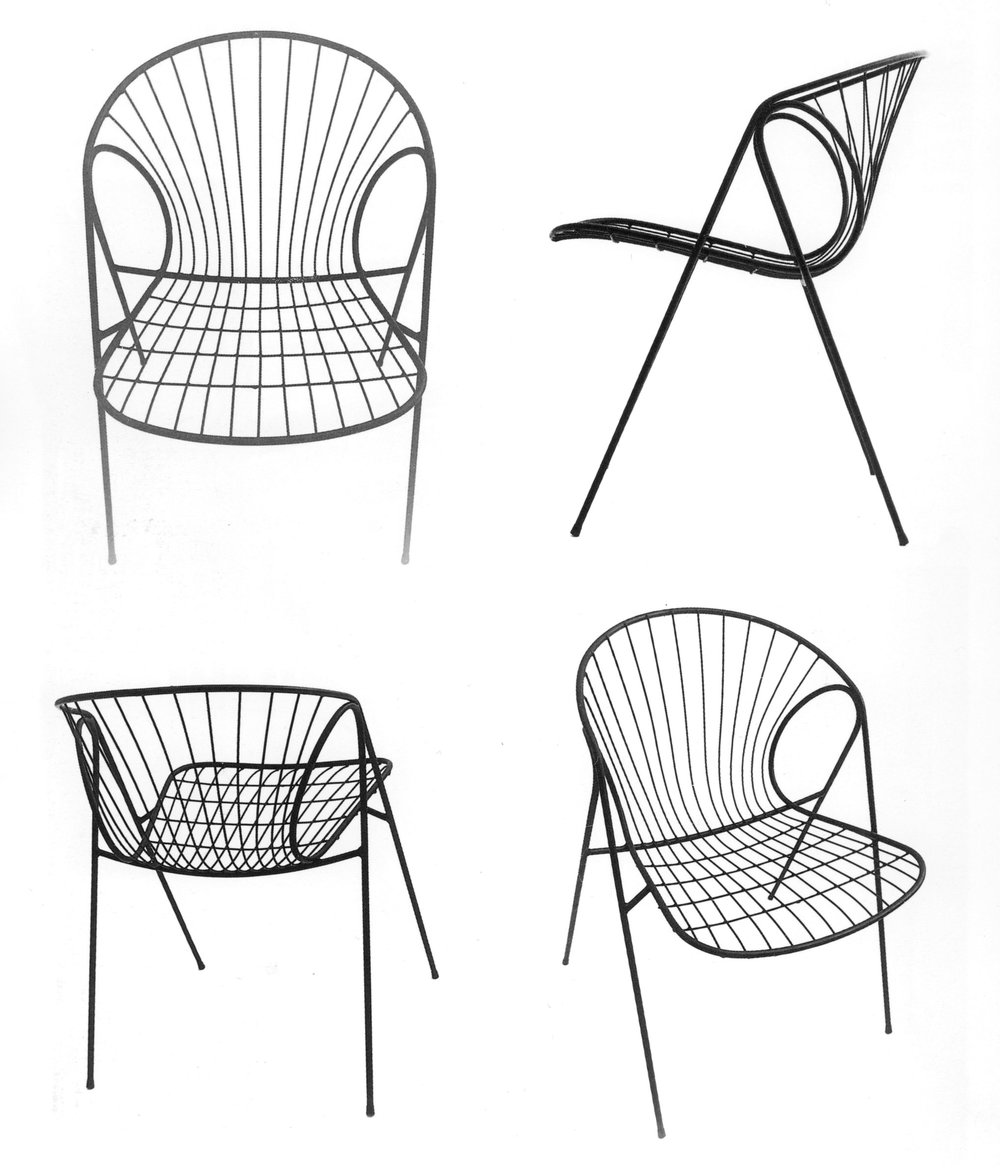 Wire chair, 1963