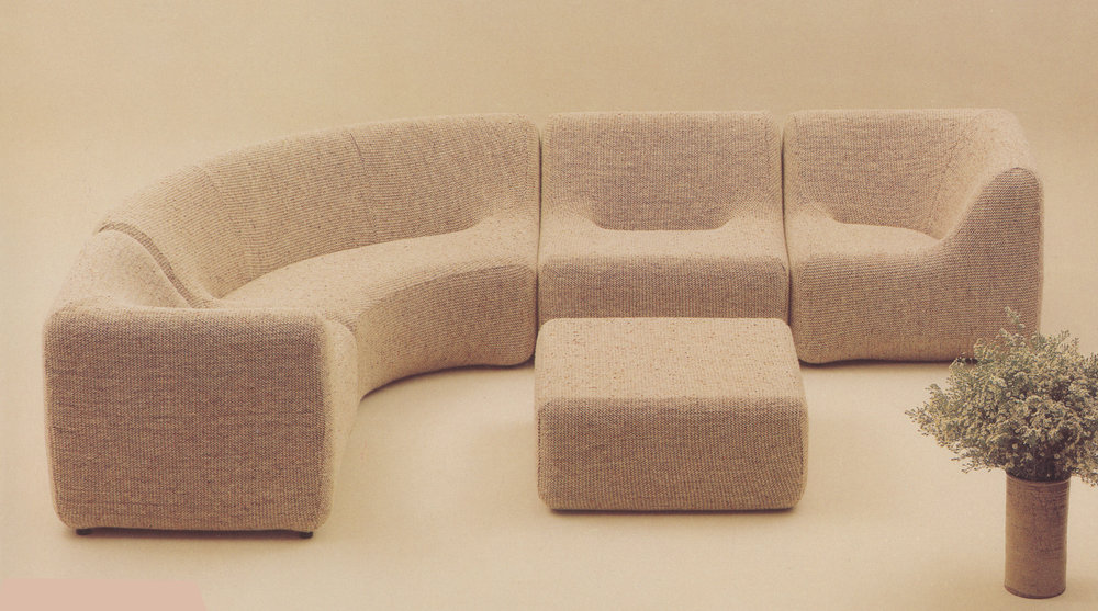 Numero VII furniture range, 1973
