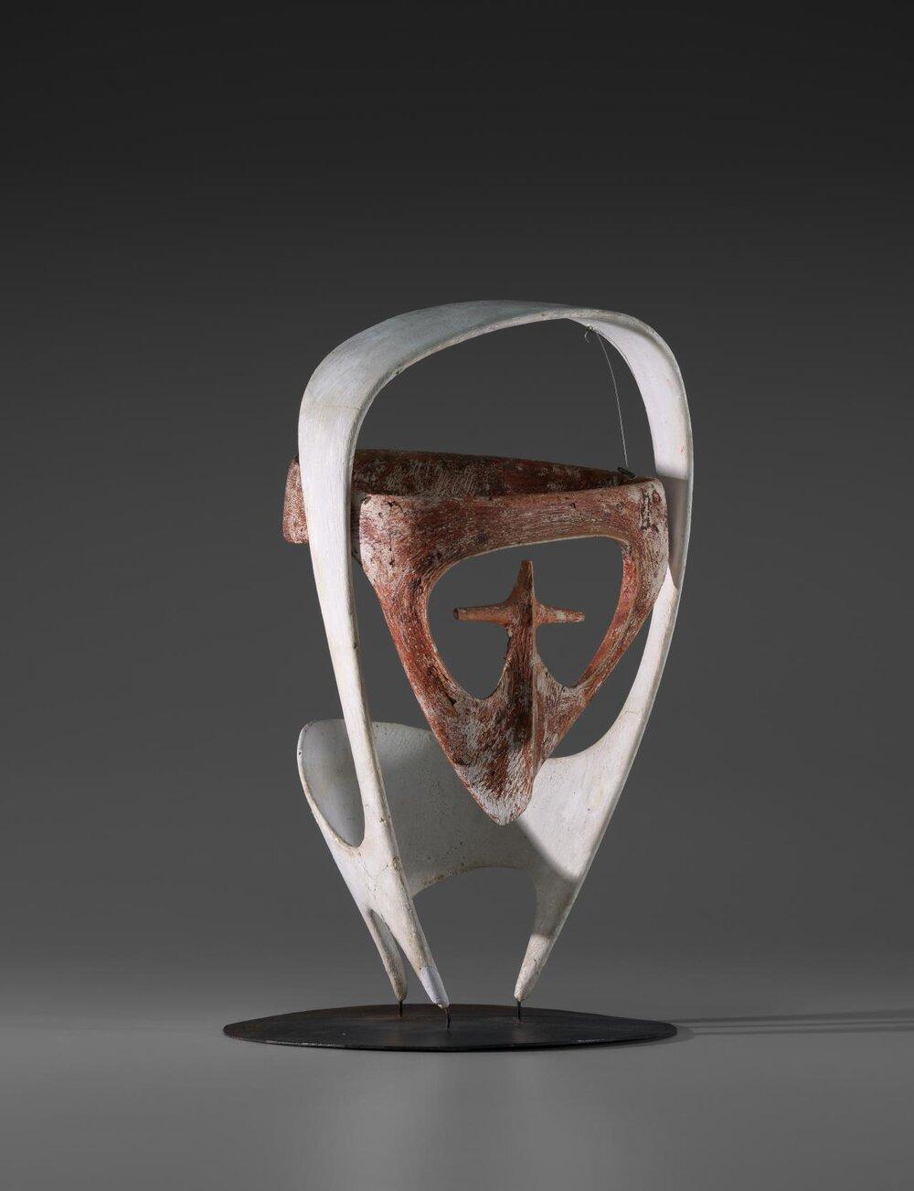Head sculpture, 1950