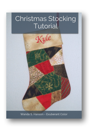Christmas Stocking Tutorial Exuberant Color
