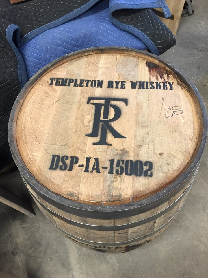 - Specialty whiskeY barrel