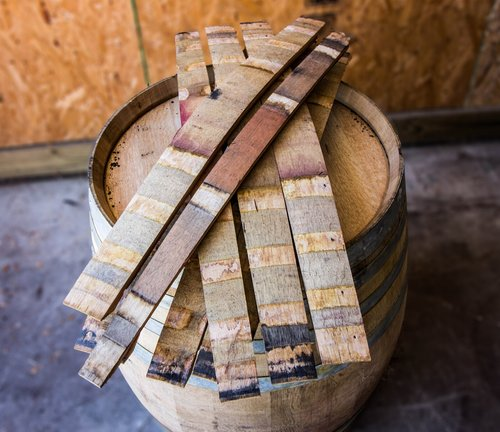 Wine Bourbon Barrel Staves Set Of 10 Midwest Barrel Company
