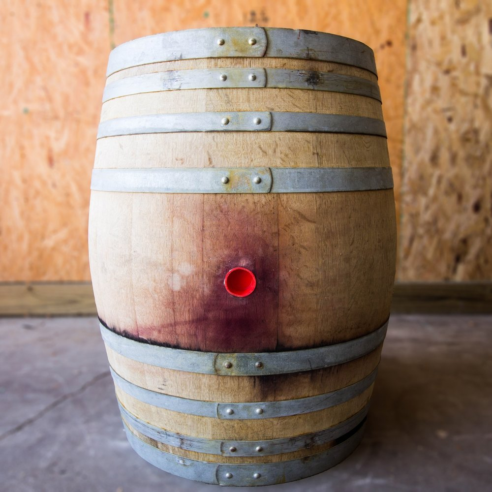 - neutral red cabernet barrel